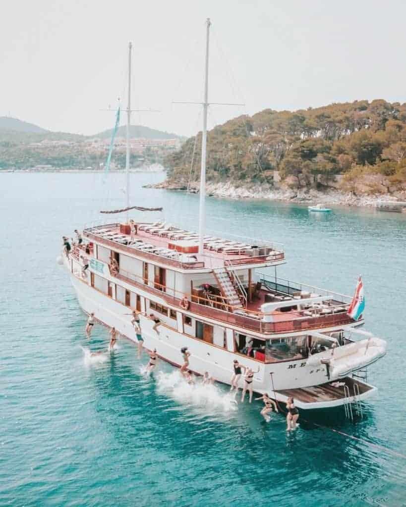 Topdeck Croatia sailing boat
