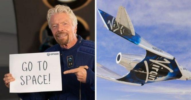 Win Virgin Galactic flights to space